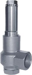 Pojistný ventil 06800 s vlnovcem